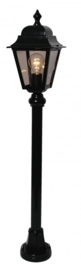 Buitenlamp mast h-97 serie Quadrana II in 2 kleuren leverbaar nr: FL114