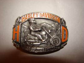 Gesp of buckle Harley Davidson Lord of the asphalt 1992