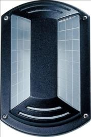 Buitenlamp wand aluminium 2jr garantie nr: 21040