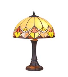 Tiffany tafellamp Sundance d40cm h55cm E27 60w nr S-AD- Tr1