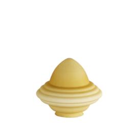 Glazen kap bolvormig model oliepot medium (2) nr: 250.59 Champagne MAT