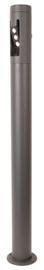 Buitenlamp staand rond serie Cylin h 130cm grafiet nr 31-31300