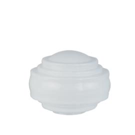 Glazen bol model Americano opaal wit d-30cm h-19cm gr-12,7cm nr 399.00