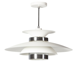 Hanglamp Potenza wit/koper 50cm E27 nr 05-HL4093-31