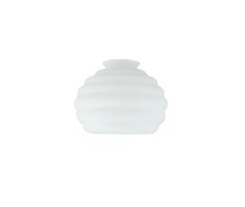 Glazen kap honing d16cm h10cm gr5,5cm E27 opaal nr 451.00