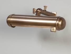 Schilderijlamp oud messing 17cm model Pintura nr 05-sch1147-02