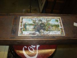 Croquet spel in houten doos.