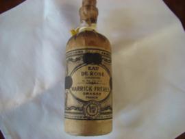 Flesje voor eau de rose (geconcentreerd rozenwater) Warwick Freres Grasse.VERKOCHT