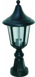 Buitenlamp sokkel serie Venezia ALU zwart nr 4012