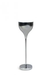 Tafellamp Mezzo Tondo chrome/wit h 55cm nr 05-TL3273-1131