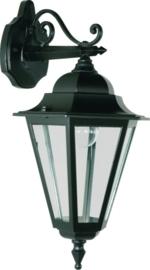 Buitenlamp wand neer serie Teccia 2 kleuren leverbaar nr: 181