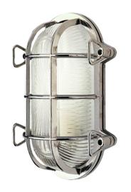 Buitenlamp wand serie Maritiem chrome h-15cm nr: 23209-34