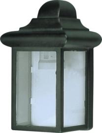Buitenlamp wand aluminium 2jr garantie nr: 21048