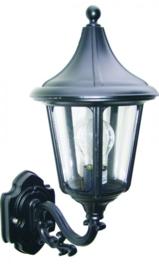 Buitenlamp wand op serie Venezia ALU zwart nr 4010