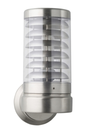 Buitenlamp wand serie Titano E27 RVS H435cm nr 10-33720E27