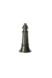 Buitenlamp mast h-44cm antiek groen serie Nuova nr: 1556