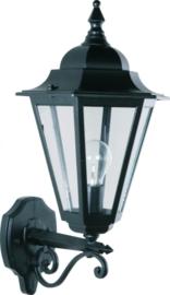 Buitenlamp wand up serie Teccia 2 kleuren leverbaar nr: 180