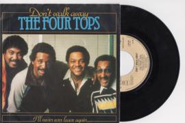 The Four Tops met Don't walk away 1981 Single nr S20207