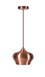 Hanglamp Ajaccio B pot 1-L koper nr 05-HL4405-05