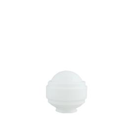 glazen bol model Sonate 15cm opaal wit d-15cm gr-85mm nr 477.00