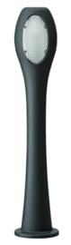 Buitenlamp staand serie Oko E27 1-zijde antraciet nr 10-20304