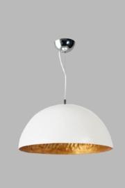 Hanglamp Mezzo Tondo SHOW wit/goud dia 50cm nr 05-HL4171-3134gS