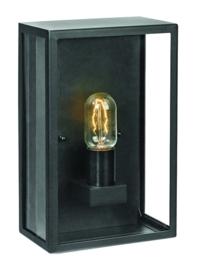 Buitenlamp wand half serie Lofoten zwart h-30cm nr 501940