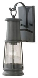Buitenlamp wand h41cm serie Chelsea Harbor Alu ant. grijs E27 nr 2090