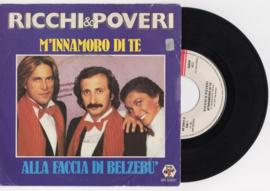 Ricchi & Poveri met M'Innamoro di te 1981 Single nr S2020384