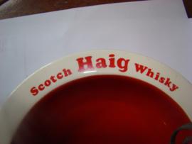 Grote asbak Scotch Haig Whisky