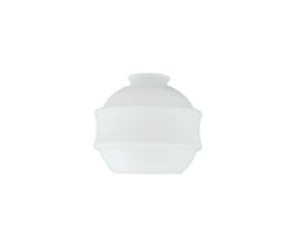 Glazen kap bonbon d15cm h12cm gr5,5cm E27 opaal nr 445.00