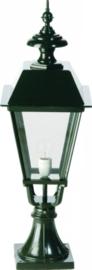 Buitenlamp combinatie sokkel h77cm serie Nuova nrs 1551+1541