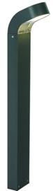 Buitenlamp mast Asker Alu antraciet 9W LED h 80cm nr 3110
