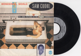 Sam Cooke met Wonderful world 1986 Single nr S2020299