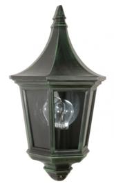 Buitenlamp wand half serie Mezza 2 kleuren leverbaar nr: 161