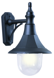 Buitenlamp wand Coastal Polymeer zwart E27 nr 469421