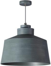 Hanglamp serie Grey d28cm h150cm vintage grijs nr 05-HL4441-99