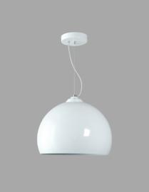 Hanglamp bol wit model Emisfero 35cm nr 05-HL4169-31