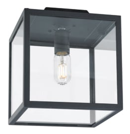 Buitenlamp plafonniere serie Lofoten zwart E27 h27cm IP44 nr 501942