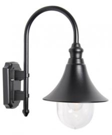 Buitenlamp wand serie Calice II zwart E27 nr FL704-10