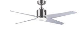Plafondventilator nr.1 4-blads ventilator Staal d-137,2cm afstandbed. nr. 05-V9800-17