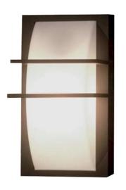 Buitenlamp wand h34cm serie Origo Alu grafiet E27 nr 31-1847