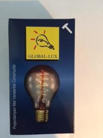 Global-Lux standaardlamp 60W E27 230V kooldraad goud nr 13-160527
