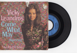 Vicky Leandros met Come what may (apres toi) 1972 Single nr S2021968