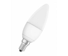 Osram LED kaarslamp E14 6,2W/40W mat 2700K dimbaar nr 15-911437