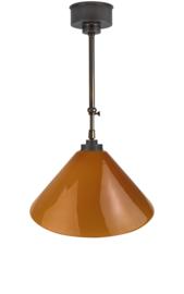 Schuifstang 2x25cm brons cognac dakkap 40 nr 1Sb-40.24