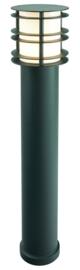 Buitenlamp paal h-85 serie Verso gegalvaniseerd staal zwart nr 3015