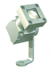 Buitenspot wandspot Spotpro 1-bundel ALU-grijs LED 5W nr 10-354619