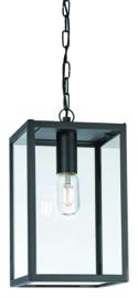 Buitenlamp hanglamp serie Lofoten zwart E27 h93cm IP44 nr 501944