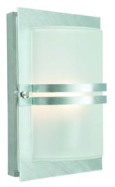 Buitenlamp gegalvaniseerd wand serie Timbra nr: 3071